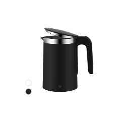 Czarny czajnik elektryczny