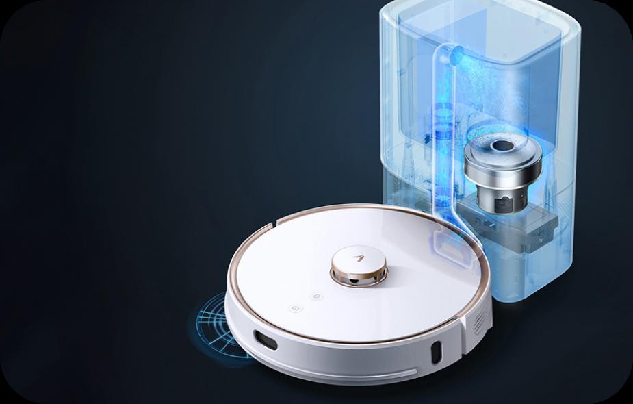 Inteligentny system opróżniania zbiornika Viomi