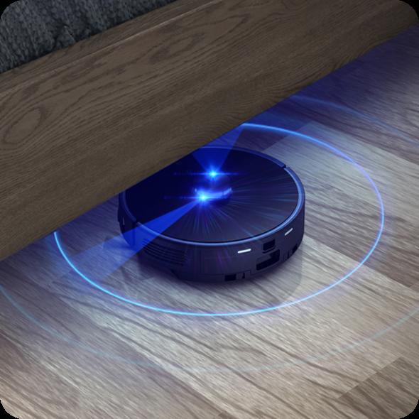 Automatyczne rozpoznawanie pokoi Viomi S9